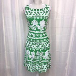 New York and Company Green Aline Dress